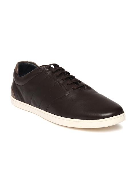 Louis Philippe Men Brown Sneakers