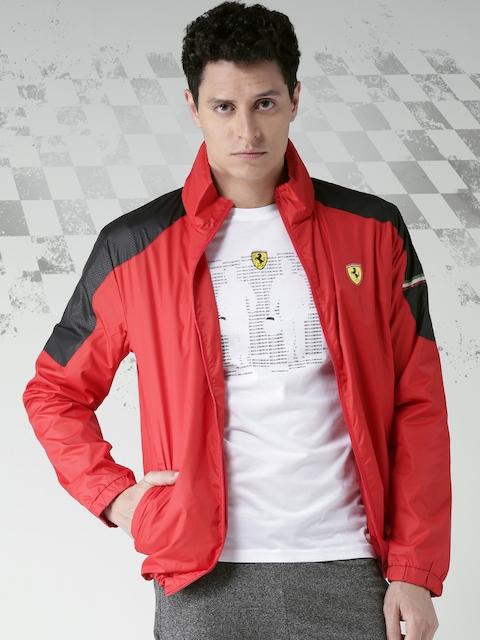 Ferrari Red Classic SF Institutional Rain Jacket