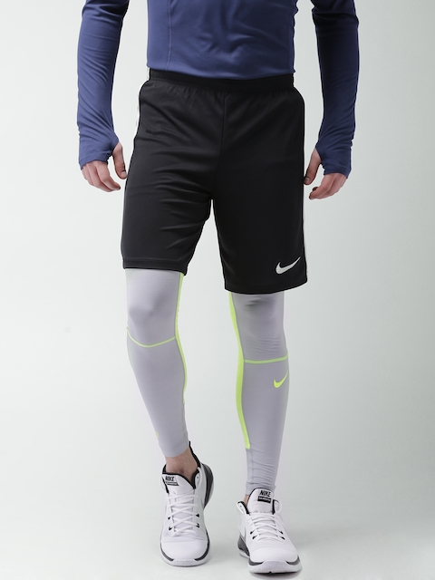 Nike Men Black Solid DRY Sports Shorts  available at myntra for Rs.777