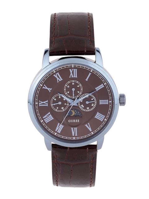 Guess W0870G3 Brown Dial Analog Men's Watch (W0870G3)