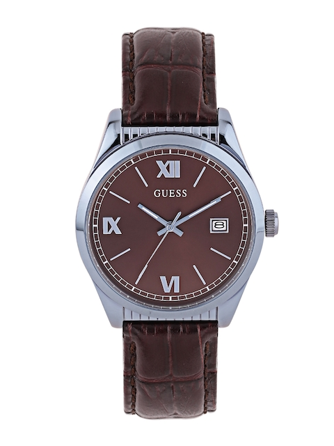 Guess W0874G3 Brown Dial Analog Men's Watch (W0874G3)