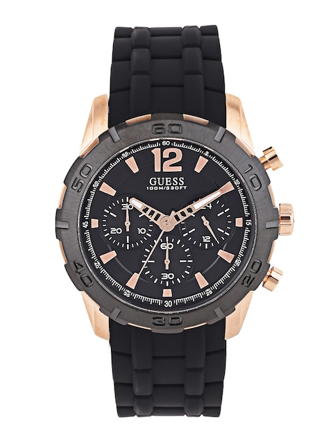Guess W0864G2 Black Dial Chronograph Men's Watch (W0864G2)