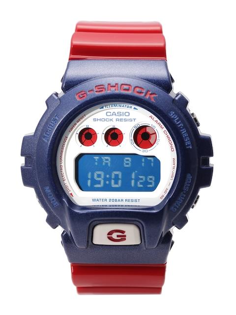 Casio G Shock Men's Red Chronograph Digital Men's Watch, G672