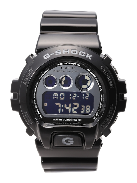 CASIO G-Shock Men Black Chronograph Digital Watch DW-6900NB-1DR G673