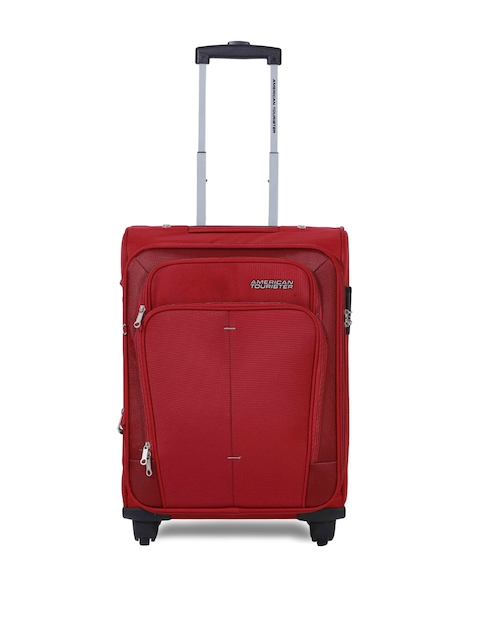 AMERICAN TOURISTER Unisex Red Trolley Bag