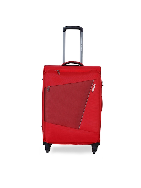 AMERICAN TOURISTER	Unisex Red Medium Trolley Suitcase