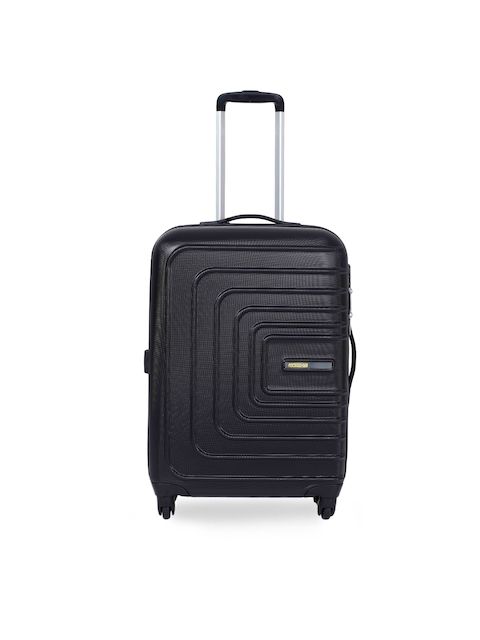 AMERICAN TOURISTERUnisex Black Medium Trolley Suitcase