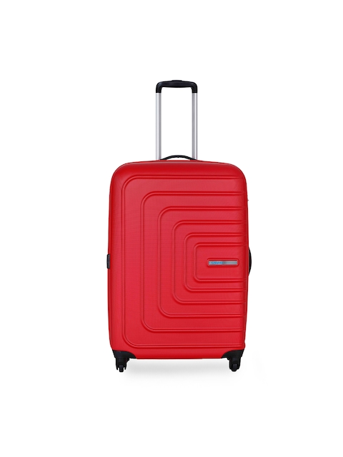 AMERICAN TOURISTER	Unisex Red Large Trolley Suitcase
