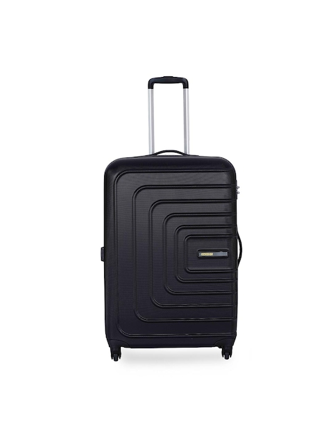 AMERICAN TOURISTER	Unisex Black Large Trolley Suitcase
