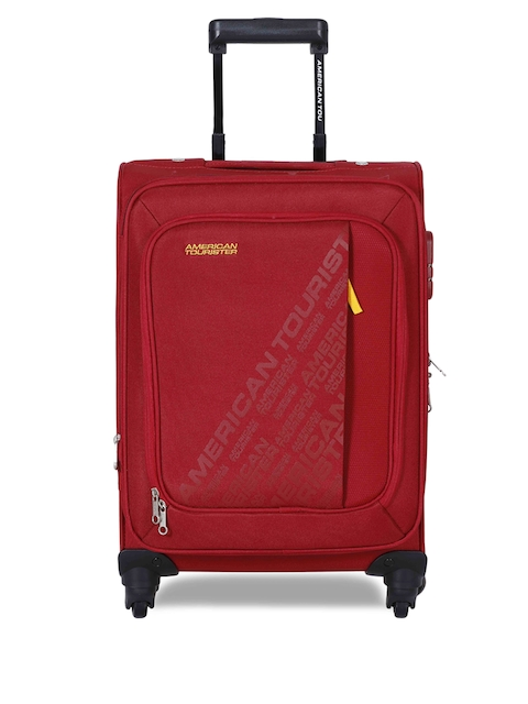 AMERICAN TOURISTERUnisex Red Small Trolley Suitcase