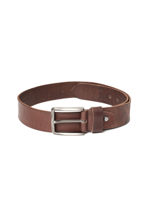 Roadster Men Brown Handmade Vintage Leather Belt
