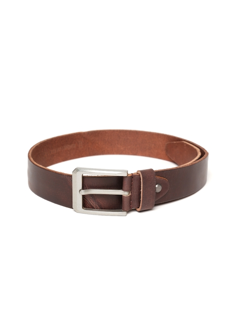 Roadster Men Brown Handmade Leather Belt