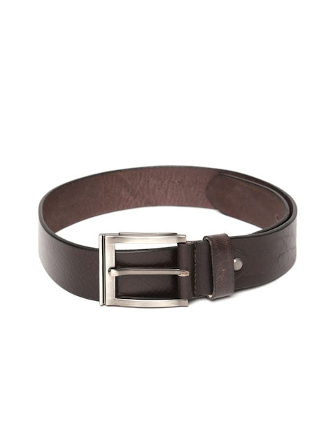 Roadster Men Coffee Brown Handmade Leather Belt