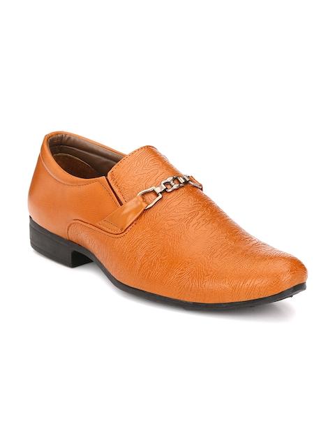 John Karsun Men Tan Semiformal Shoes