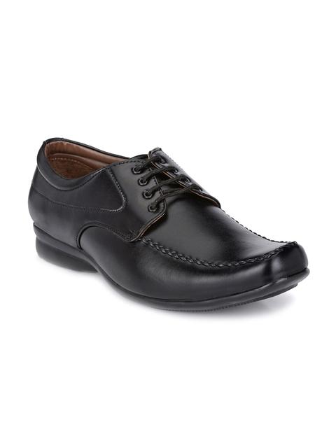 John Karsun Men Black Formal Shoes