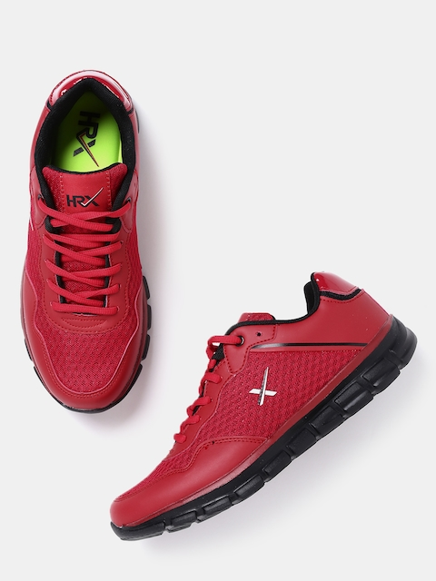 HRX by Hrithik Roshan Men Red Walking Shoes