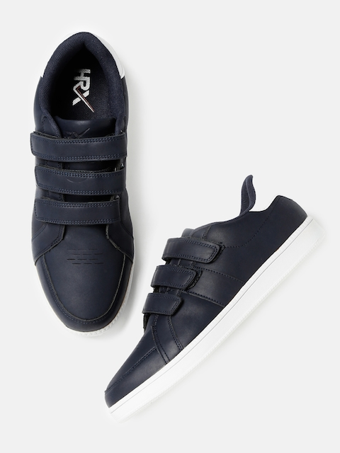 HRX by Hrithik Roshan Men Navy Sneakers