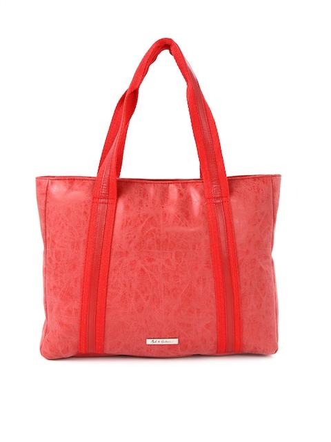Mast & Harbour Women Red Laptop Bag