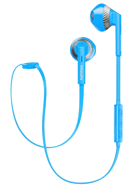 Philips Unisex Blue Fresh Tones Bluetooth In-Ear Headphones SHB5250BL/00