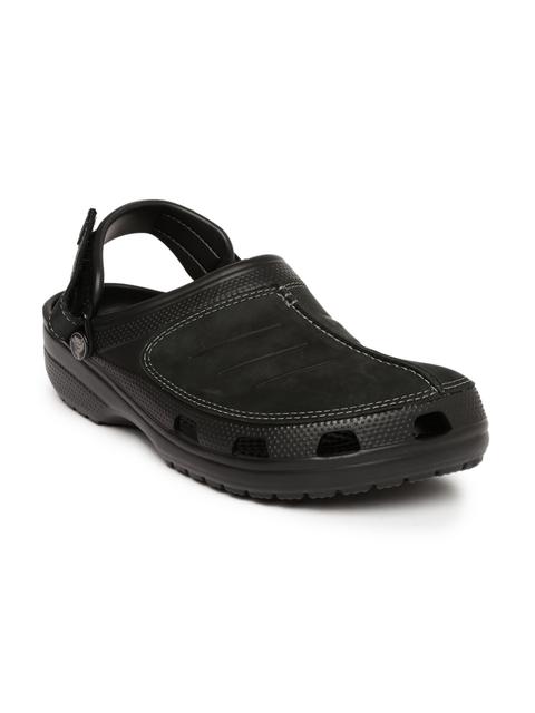 Crocs Men Black Yukon Mesa Clogs