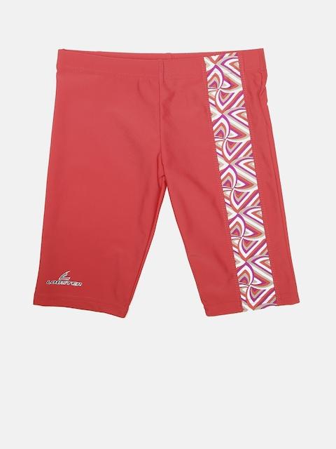 LOBSTER Boys Red Printed Swim Shorts 4058333103123