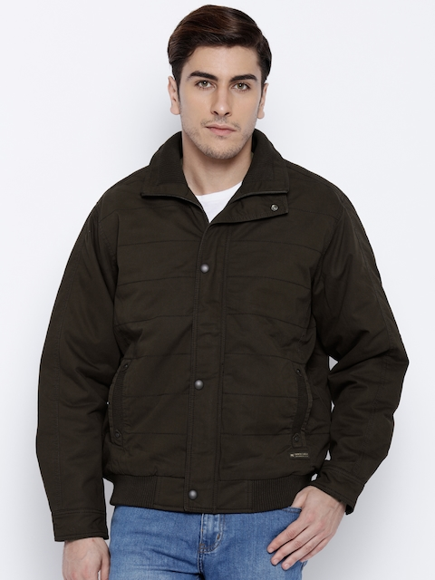 Monte Carlo Olive Green Bomber Jacket