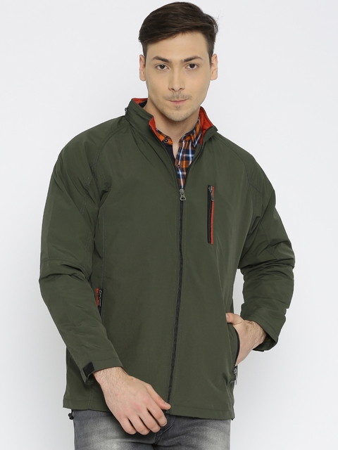 Monte Carlo Olive Green Hooded Jacket