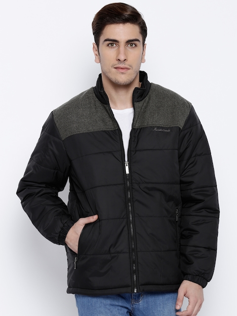 Monte Carlo Black Quilted Jacket