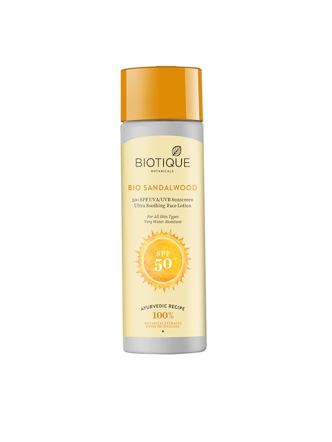 Biotique Bio Sandalwood 50+ SPF Sunscreen
