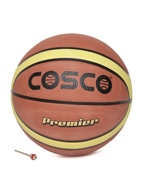 COSCO Unisex Rust Orange Premier Basketball
