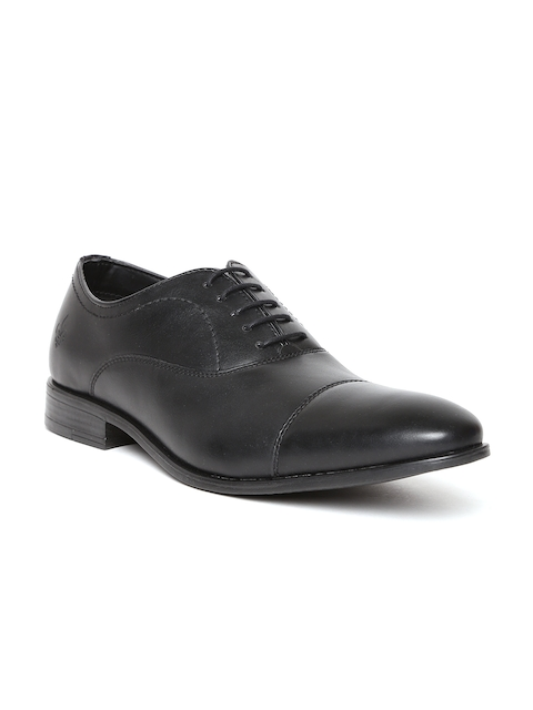Bond Street by Red Tape Men Black Oxfords