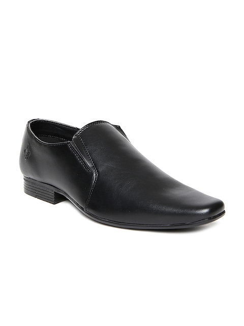Bond Street by Red Tape Men Black Formal Slip-Ons
