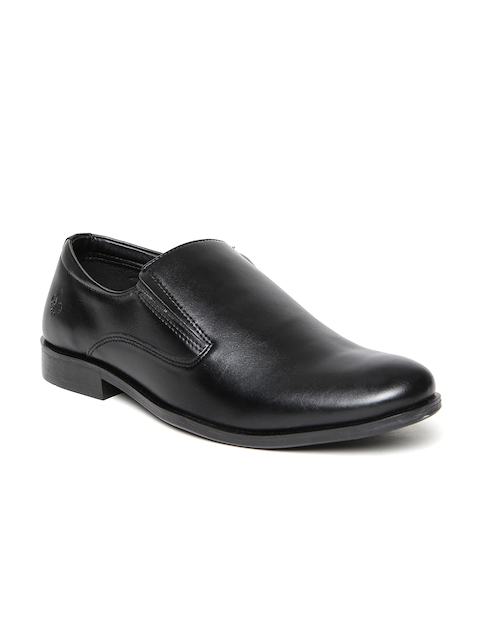 Bond Street by Red Tape Men Black Semiformal Slip-Ons