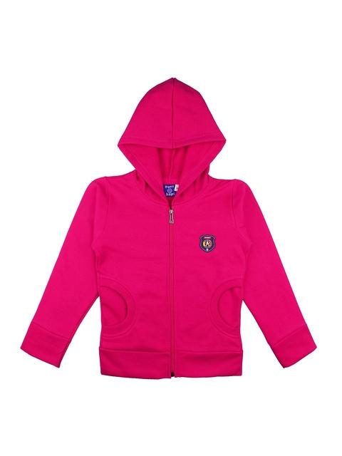 SWEET ANGEL Kids Pink Hooded Sweatshirt