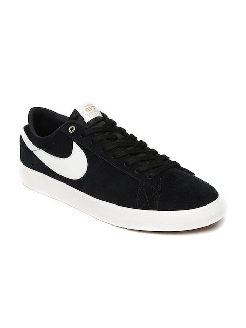 Nike Men Black Blazer Low Skate Shoes
