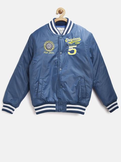 Pepe Jeans Boys Navy Varsity Jacket