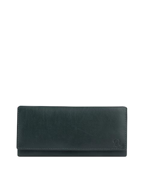 Kara Women Green Leather Wallet