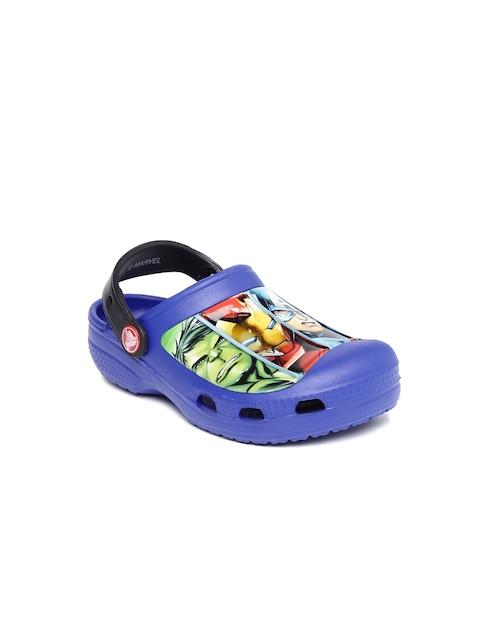 Crocs Boys Navy Marvel Avengers Clogs