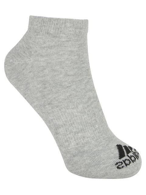 Adidas Men Grey PER NO-SH T 1PP Socks