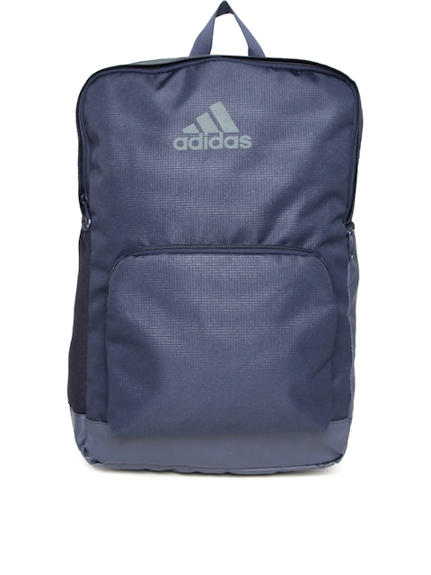 ADIDAS Unisex Navy 3 Stripes Performance Laptop Backpack