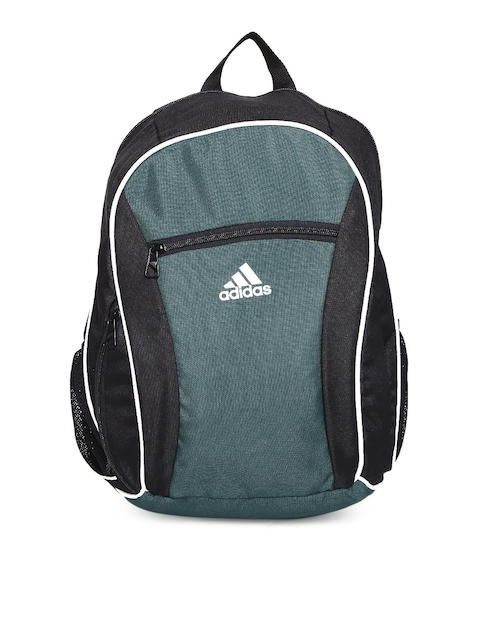 Adidas Men Grey & Black Colourblocked Backpack  available at myntra for Rs.759