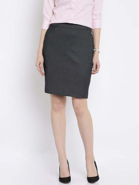 Park Avenue Blue Pencil Skirt