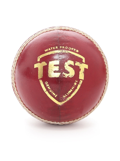 SG Maroon Test Waterproof Genuine Alumhide Leather Cricket Ball