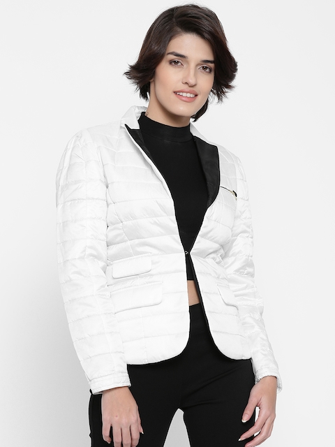 Numero Uno White Quilted Jacket
