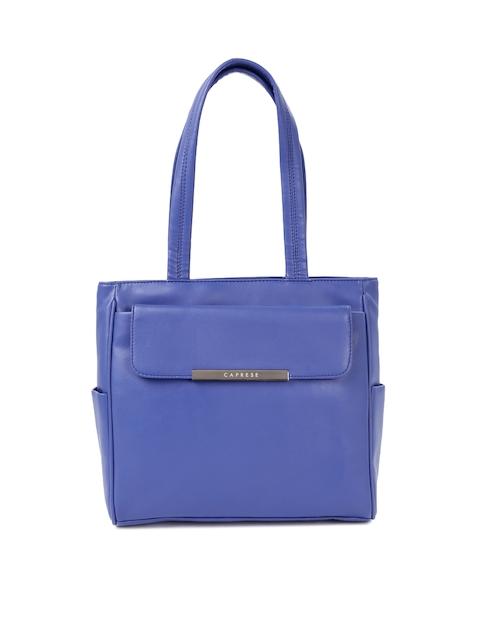 Caprese Blue Handbag