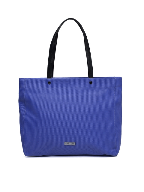 Caprese Blue Shoulder Bag  available at myntra for Rs.1399