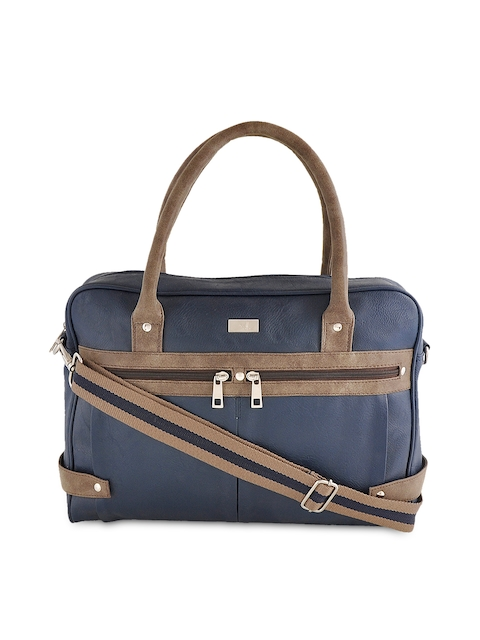 Yelloe Men Blue Laptop Bag
