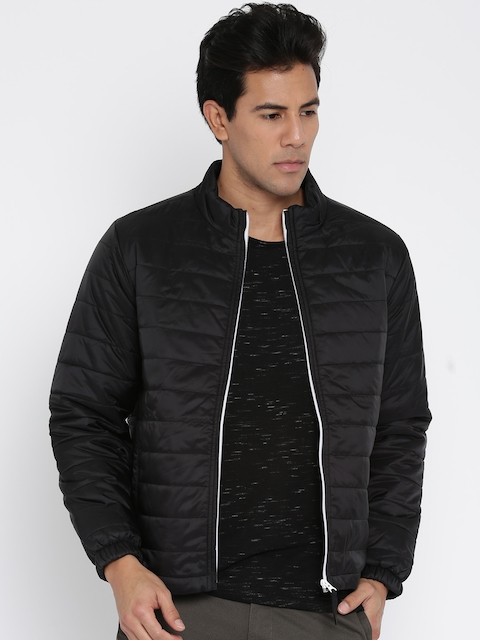John Players Black Quilted Jacket