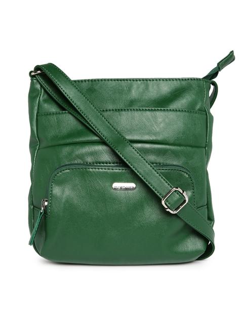 Lavie Dark Green Rosetta Sling Bag  available at myntra for Rs.1030