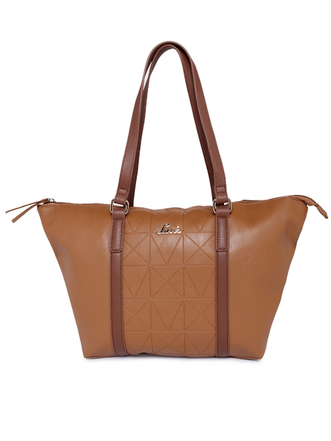 Lavie Tan Brown Textured Sibiu Shoulder Bag